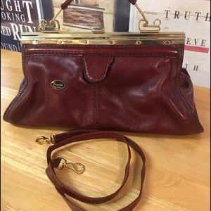 Vintage GUIDI Leather Purse. Made in Italy.